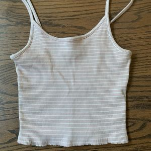 American Eagle Outfitters striped tank top